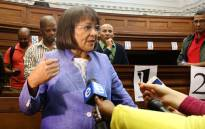 Patricia de Lille addressing the media after the Western Cape High Court on Tuesday granted her interim relief to return as Cape Town mayor and DA member. Picture: Bertram Malgas/EWN.