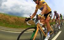 World road race champion Mark Cavendish. Picture: AFP.