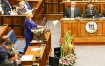 FILE: Western Cape Premier Helen Zille in the Western Cape Legislature. Picture: @WesternCapeGov/Twitter