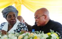 FILE: This file photo shows Dr Nkosazana Dlamini Zuma with President Jacob Zuma. Picture: GCIS.