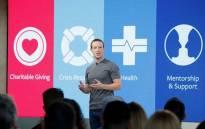 FILE: Facebook Founder and CEO Mark Zuckerberg. Picture: Facebook.com