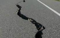 Earthquake aftermath in Kroonstad. Picture: Supplied.