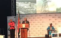 President Jacob Zuma pictured at the energy indaba in Midrand, on 7 December 2017. Picture: @SAgovnews/Twitter