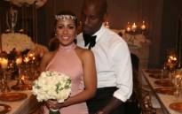 A screengrab of Tyrese Gibson's wedding day.