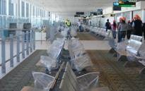 The domestic departures holding area at Cape Town International Airport. Picture: EWN