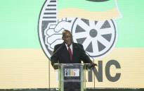 President Jacob Zuma at the ANC's Gala dinner hosted by the Progressive Business Forum on the night before the start of the ANC's elective conference at Nasrec. Picture: Ihsaan Haffejee/EWN
