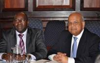 FILE: Nhlanhla Nene pictured with Pravin Gordhan. Picture: GCIS.