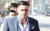 This file photo shows Mark Salling as he arrives for a court appearance at United States Courthouse - Central District of California on 3 June 2016 in Los Angeles, California. Picture: AFP.