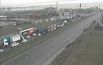 Motorists have been warned to avoid the R24 and R21 highways near OR Tambo International Airport on 27 October 2017, as a protest is underway.  Picture: @itrafficgp/Twitter