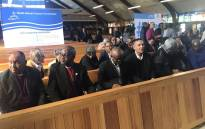 South African Council of Churches (SACC) members. Pictures: Clement Manyathela/EWN