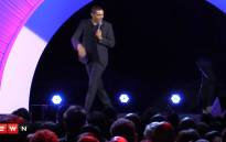 FILE: Trevor Noah during one of his stand-up comedy routines. Picture: Kgothatso Mogale/EWN.