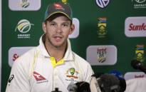 Australian Captain Tim Paine gives a press conference at the end of the third Test cricket match between South Africa and Australia on 25 March 2018 in Cape Town. Picture: AFP.