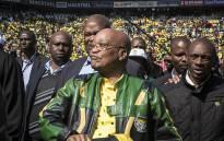 FILE: President Jacob Zuma arrives at an ANC rally. Picture: Reinart Toerien/EWN