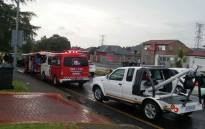 A three vehicle collision has left six people injured, including children, in Mondeor. Picture: @ER24EMS