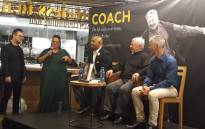 Clive Barker, former Bafana coach launches his new book 'Coach – The life and soccer times of Clive Barker'. Picture: Twitter.
