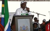 Gauteng Premier David Makhura addresses the provincial launch of 16 Days of Activism for no violence against women and children campaign on 25 November 2017. Picture: @GautengProvince.