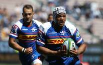 Nizaam Carr drives the Stormers attack forward. Picture: @THESTORMERS/Twitter