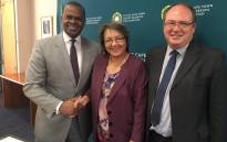Mayor of Cape Town Patricia de Lille hosts Mayor Of Atlanta Kasim Reed & his team on their official visit to Cape Town. Picture: Twitter: @PatriciaDeLille