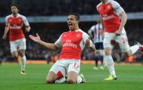FILE: Alexis Sanchez scored twice to help ease their top-four jitters in a 2-0 victory over West Bromwich Albion in the Premier League on 21 April 2016. Picture: Arsenal official Facebook page.