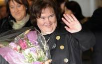 Scottish singer Susan Boyle arriving in Japan. Picture: AFP PHOTO / Yoshikazu TSUNO