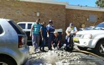 Hermanus SAPS confiscated large quantity abalone and abandoned vehicle on N2 in Grabouw.  Picture: ‏@SAPoliceService.