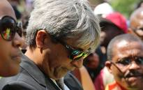 FILE: Wits University vice chancellor Adam Habib looks down during a third day of protests at the institution over proposed tuition fee increases on 16 October 2015. Picture: Reinart Toerien/EWN.