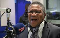 African National Congress head of elections Fikile Mbalula. Picture: Radio 702.