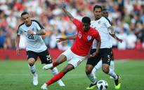 England striker Marcus Rashford in action against Costa Rica at Elland Road, Leeds on 7 June 2018. Picture: @England/Twitter
