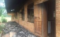 FILE: One of the schools torched in Vuwani during protests in 2016. Picture: Kgothatso Mogale/EWN.