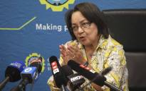 This undated file photo shows Cape Town Mayor Patricia de Lille address the media at a briefing regarding the drought in Cape Town. Picture: Cindy Archillies/EWN.