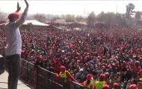 Thousands of EFF supporters gathered at the Boipatong Stadium on Youth Day 2017. Picture: Kgothatso Mogale/EWN.