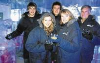 The Van Breda family pictured before the attack. Picture: Facebook.