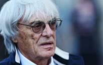 Formula One chief executive Bernie Ecclestone. Picture: AFP.