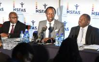 FILE: Nsfas Chairperson Sizwe Nxasana (centre). Picture: EWN