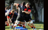 Flanker Brad Shields during England training session in Durban. Picture: @EnglandRugby/Twitter