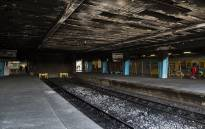 FILE: Fire and smoke damage at Cape Town Station following an incident of arson in April 2016. Picture: Aletta Harrison/EWN.