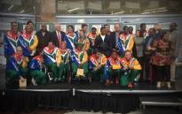 Winning welcome for Team SA's Paralympians.Picture: Kgothatso Mogale/EWN