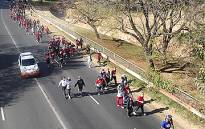 FILE: People taking part in the 15km event of the Discovery/702 Walk the Talk enjoy a beautiful day in Johannesburg. Picture: Sheldon Morais/Eyewitness News