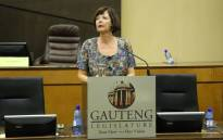 FILE: Gauteng Finance MEC Barbara Creecy. Picture: @BarbaraCreecyGP/Twitter