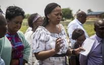 FILE: Gauteng Social Development MEC Nandi Mayathula-Khoza at an event. Picture: Reinart Toerien/EWN.