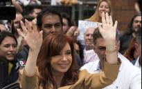 This file photo shows Argentinian former President Cristina Kirchner. Picture: AFP.