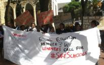 FILE: Equal Education and some learners protesting in Cape Town for better security at schools in the Western Cape. Picture: @equal_education/Twitter