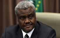 Moussa Faki Mahamat. Picture: AFP
