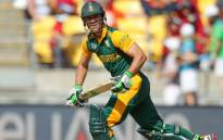 FILE: South Africa's AB de Villiers during the Cricket World Cup action against United Arab Emirates during their last match in Pool B on 12 March 2015. Picture: CWC.