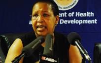 FILE: Former Gauteng Health MEC Qedani Mahlangu. Picture: EWN
