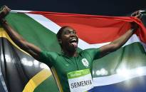 FILE: Caster Semenya celebrates winning the Women's 800m Final at the Rio 2016 Olympic Games. Picture: AFP.
