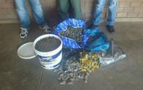 Police have seized marijuana valued at almost a R1 million in the Southern Cape and two men were also arrested on 12 August 2015. Picture: SAPS.