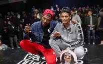 Cape Town breakdancer 'Meaty' (L) won the 2018 Red Bull BC One competition. Picture: EWN