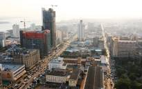 FILE: A general view shows buildings under construction in Maputo. Picture: AFP.