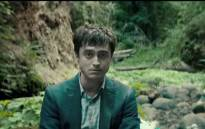 A screengrab of Daniel Radcliffe from the 'Swiss Army Man' trailer. Picture: YouTube.